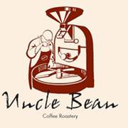 豆叔的咖啡的logo